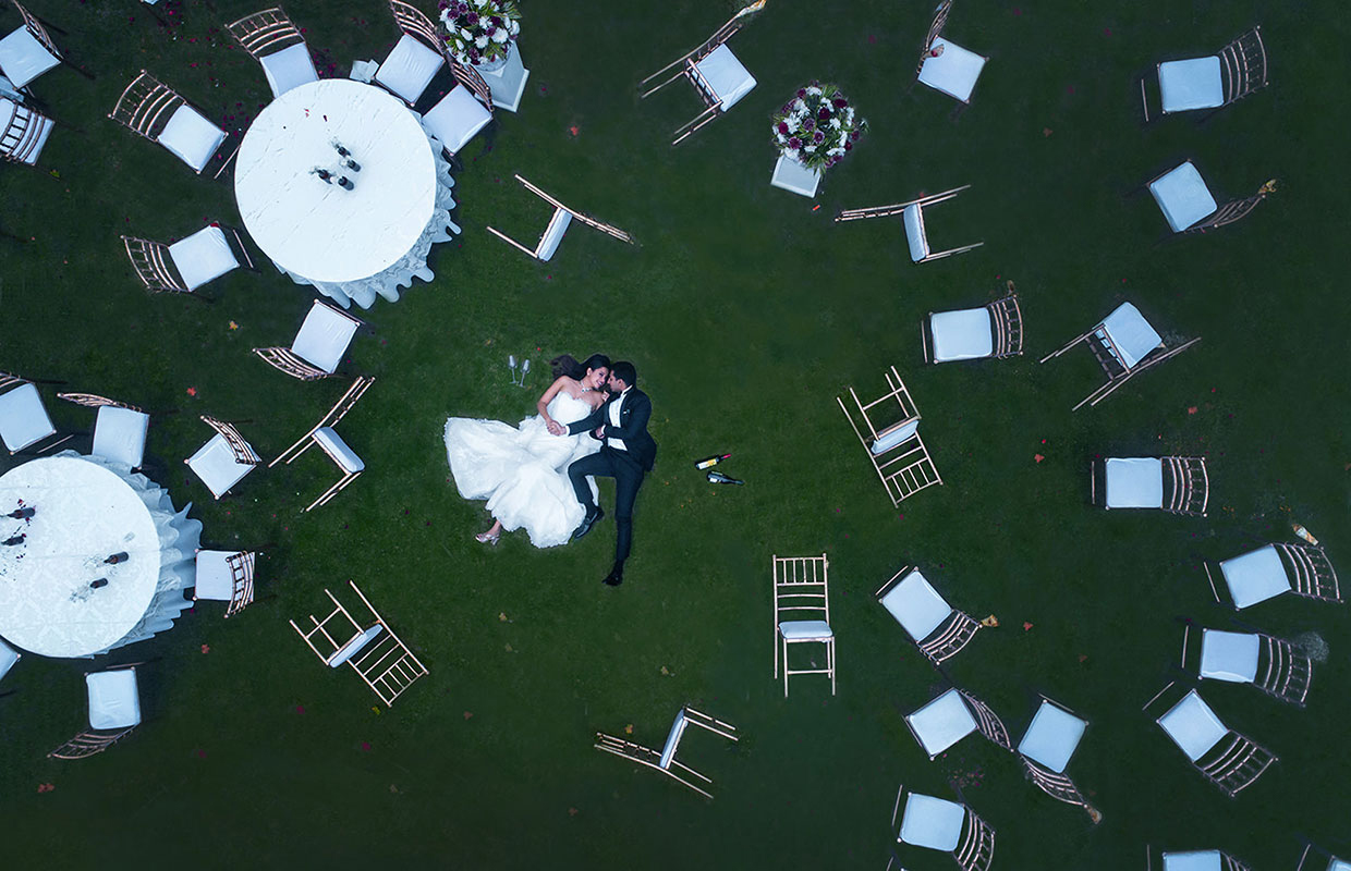 best drone photograph wedding india